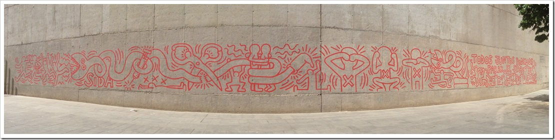 Grafitti Tour Barcelona @DownshiftingPRO_Keith Haring