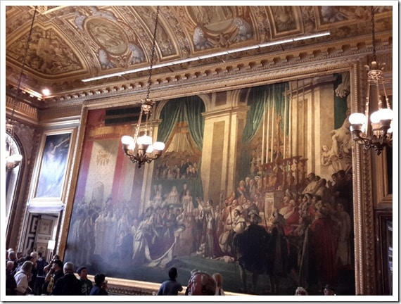 Napoleon's Coronation Versailles, France @DownshiftingPRO