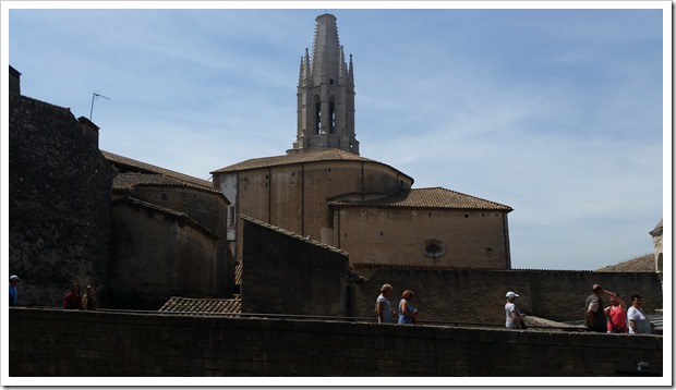 Girona Spain 2016 location of Game of Thrones @DownshiftingPRO - Cloisters