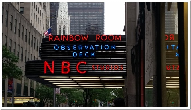 30 Rockefeller Centre - NBC - #WordlessWednesday @DownshiftingPRO