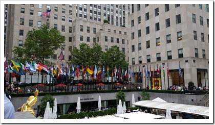 Rockefeller Center @DownshiftingPRO -Cafe