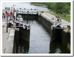 Rideau Locks in Ottawa Canada DownshiftingPRO