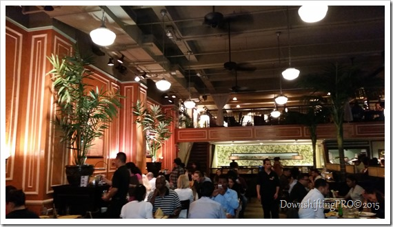 Havana Central Restaurant Review Time Square NYC @DownshiftingPRO_Dinning Room