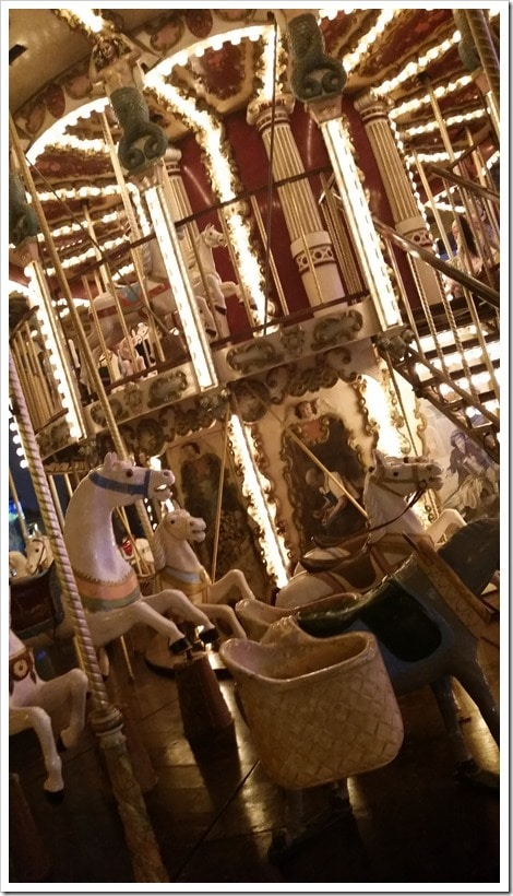 Lloret de Mar, Spain - Food Truck & Caravan Food Festival - Carousel