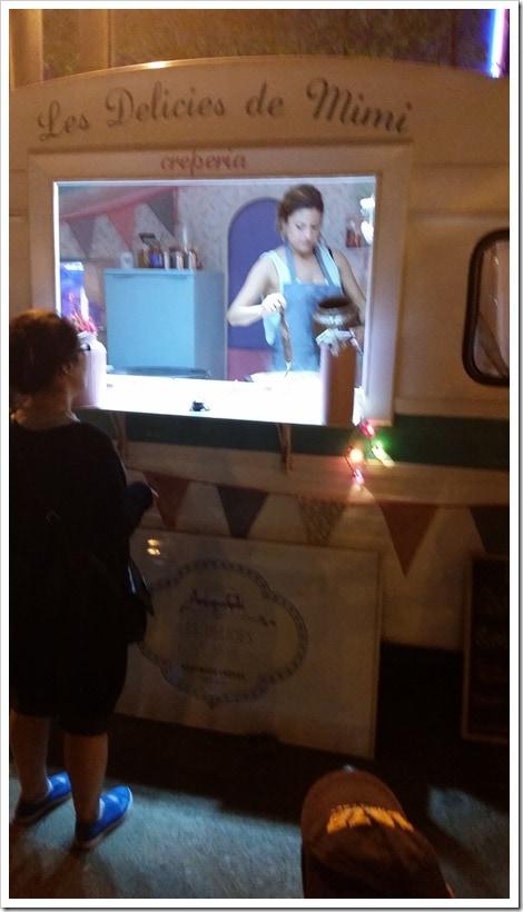 Lloret de Mar, Spain - Food Truck & Caravan Food Festival - Crepes