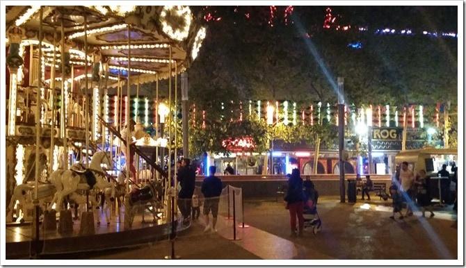 Lloret de Mar, Spain - Food Truck & Caravan Food Festival - the Carousel