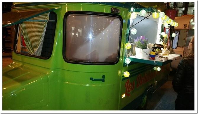 Lloret de Mar, Spain - Food Truck & Caravan Food Festival - Colombian Food Truck