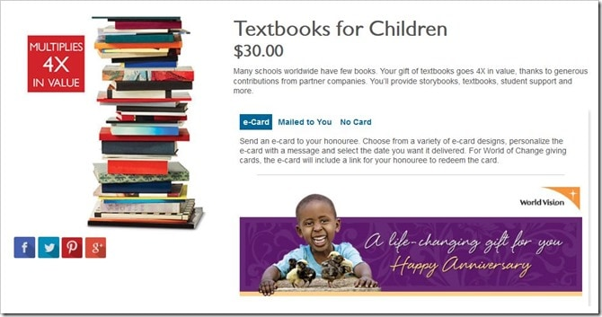 WorldVisionCanada Gift Catalogue_Textbooks