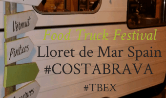 Food Trucks in Spain #TBEX #CostaBrava #Travel
