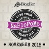 NaBloPoMo–National Blog Posting Month on BlogHer