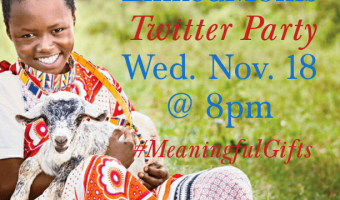 Save-The-Date for World Vision Canada & @LinkedMom #MeaningfulGifts Twitter Party–Wed. Nov.18 at 8 pm