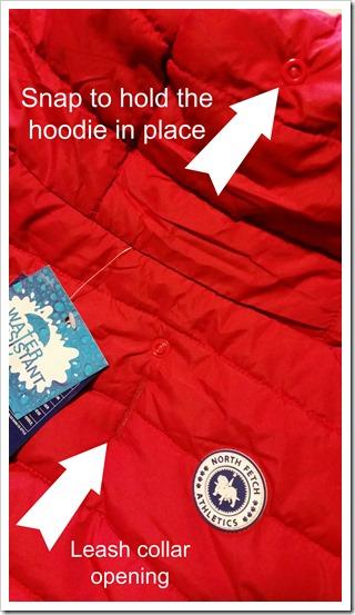 North Fetch Athletics_Puffer Coat Details @DownshiftingPRO
