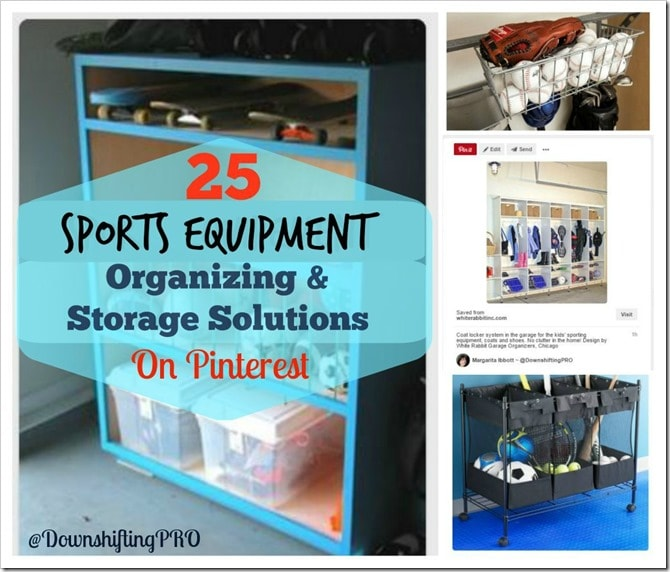 25 Sport Equipment Organizing and Storage Solutions