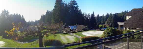 Capilano Golf Club in West Vancouver _panorama