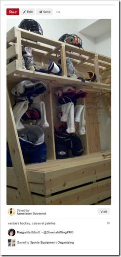 Sports Equipment Organization_ Hockey Equipment