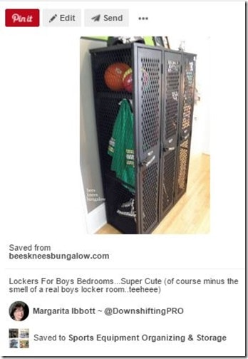Sports Equipment Organization_Metal Lockers