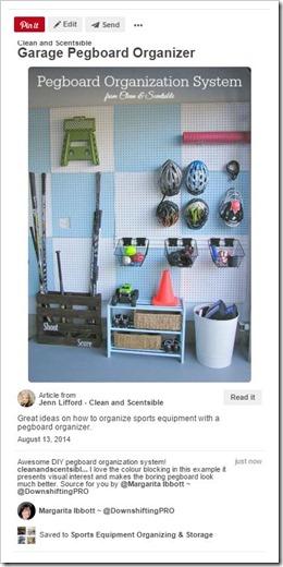 Sports Equipment Organization_Pegboard