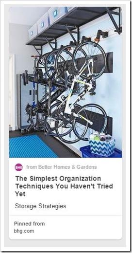 Sports Equipment Organization_hanging  Bikes