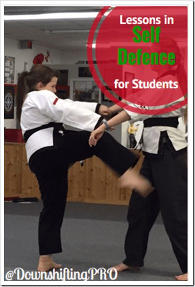 Self-Defence for Students @DownshiftingPRO