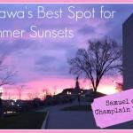 The Best Spot in Ottawa for Summer Sunsets
