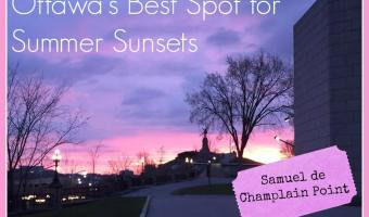 The Best Spot in Ottawa for Summer Sunsets