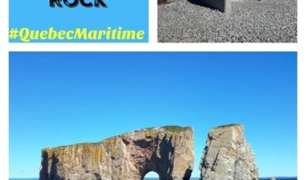 Percé Rock in the Gaspésie Region of Quebec–#QuebecMaritime