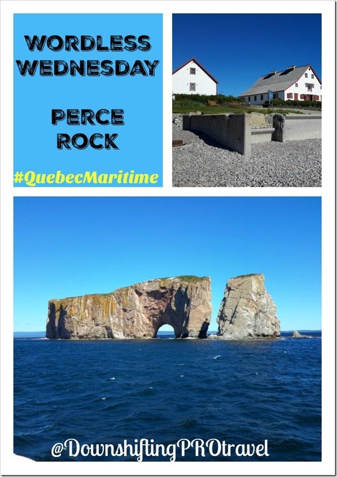 Wordless Wednesday Perce Rock