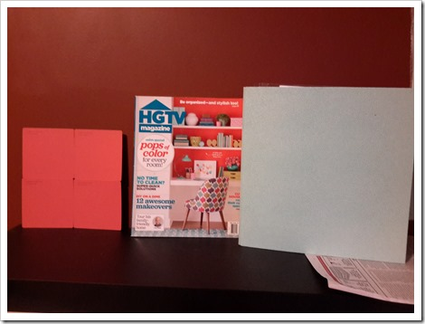 Benjamin Moore Office Makeover Part One - Forget Me Not @DownshiftingPRO