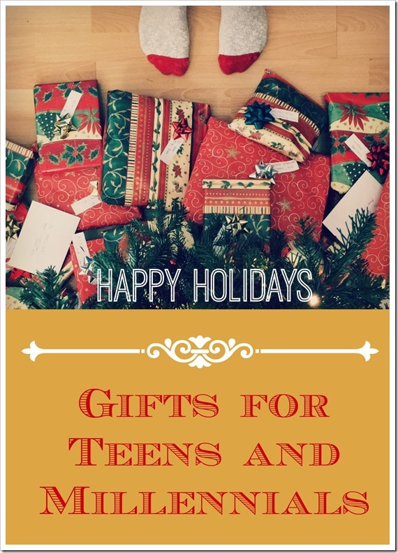 Gifts for Teens and Millennials