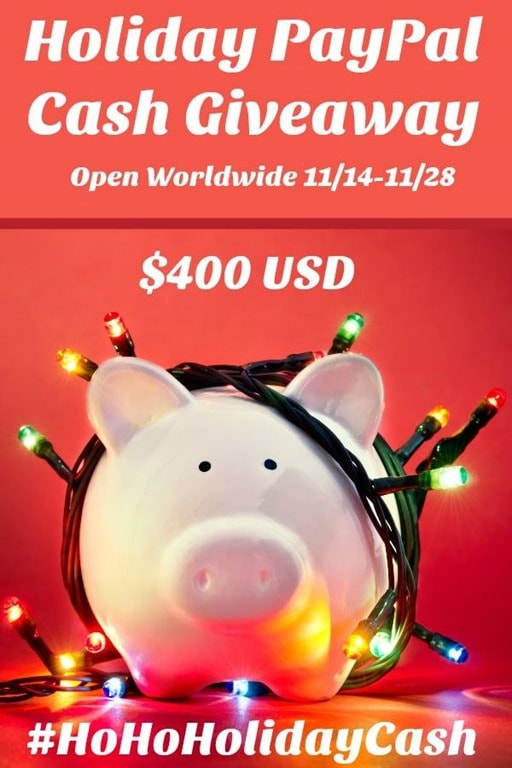 95ef3d51c57 Holiday Cash Giveaway–Open Wide  400 USD via Paypal–November 14–28 ...