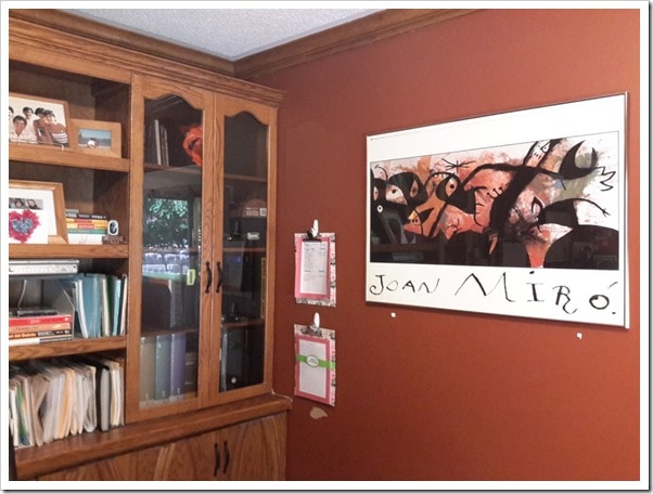 Office Makeover_before_bookcase_@DownshiftingPRO