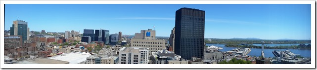 Summit of Place Ville Marie in Montreal @DownshiftingPRO