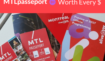 Is PasseportMTL worth it? Absolutely! #mtlmoments #DPROtravel