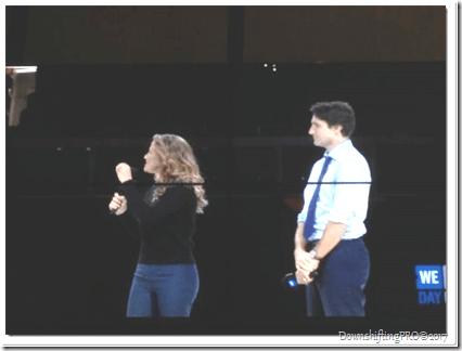 Prime Minister of Canada and Wife at We Day Celebration 2015_RewardVolunteers_VolunteerSuperhero