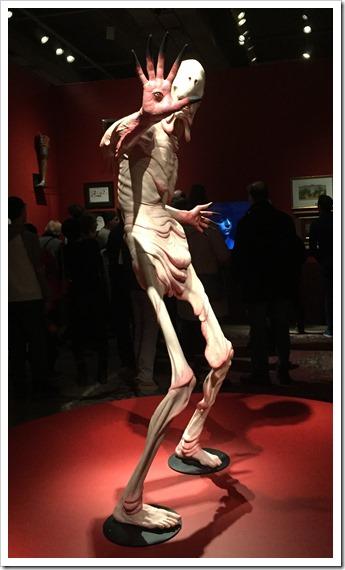 The Pale Man - Guillermo del Toro at The AGO Toronto @DownshiftingPRO