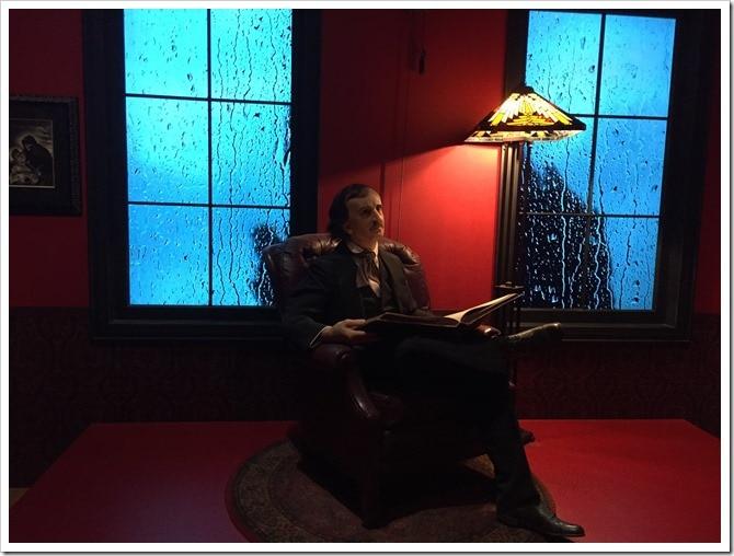 Edgar Allan Poe - The Rain Room - Guillermo del Toro at the AGO @DownshiftingPRO 2017