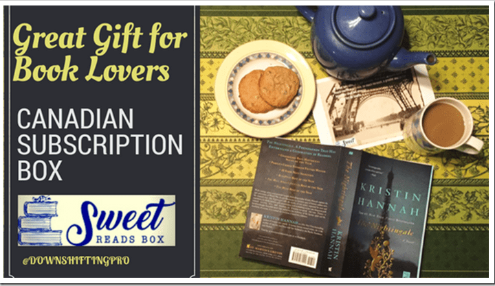 Sweet Reads Box– A Great Book and Treats makes this a great Gift! #SweetReadsBox #Giveaway (CDN ends Jan.31/17)