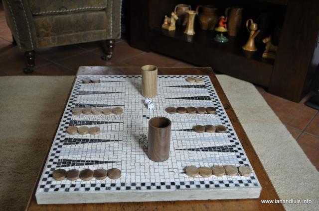 Backgammon Board Blueprints