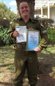 Israel Defense Forces honored Elad Gevandschnaider