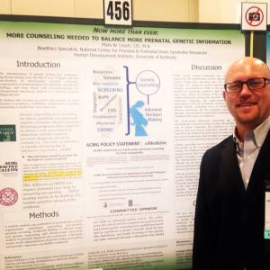 Poster 456: Now More Than Ever: more counseling needed with more genetic information