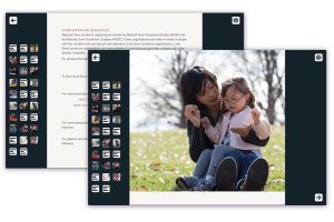 A new web app for Down syndrome prenatal resources