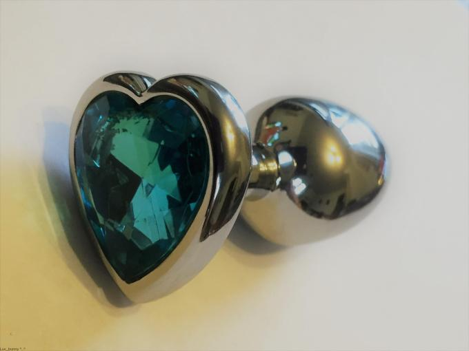 Kinky Desires Hearts n Flowers Butt Plug