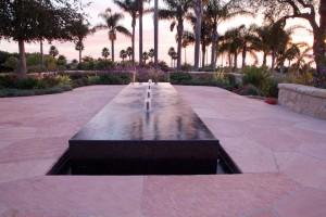 water feature ideas santa barbara