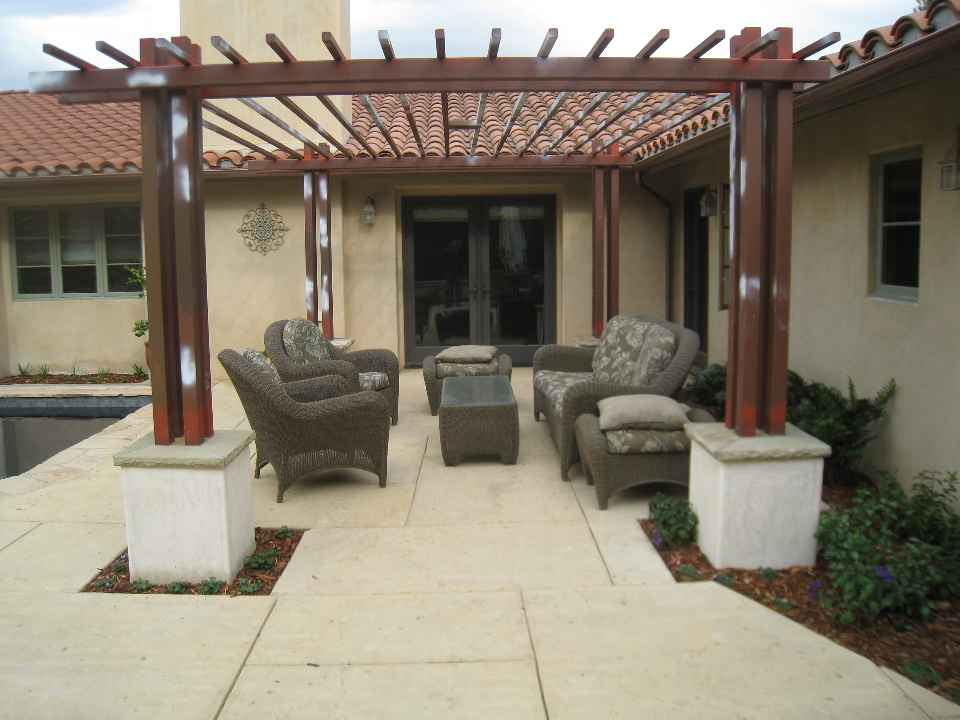backyard kitchens kitchen granite patio ideas in santa barbara outdoor 93103