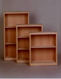 "Contemporary Bookcase 10"" Deep"