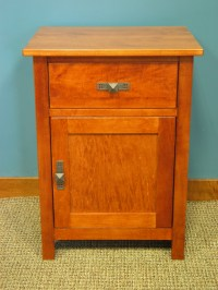 1 Drawer Nightstand w/ shelf