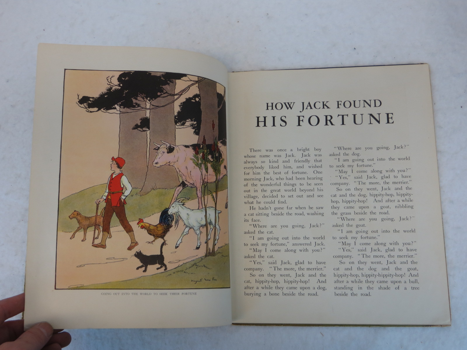 Wallace C Wadsworth How Jack Found His Fortune Rand