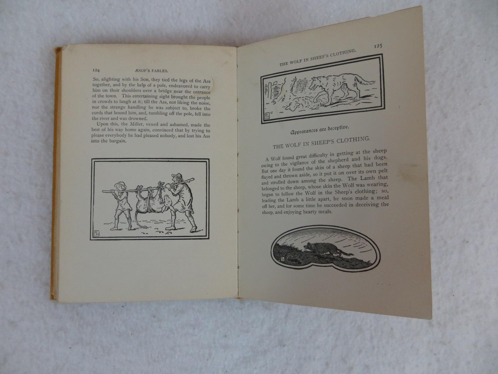 Mons De Meziriac Aesop S Fables Illustrated Rand Mcnally