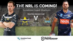 the nrl is coming titans vs cowboys