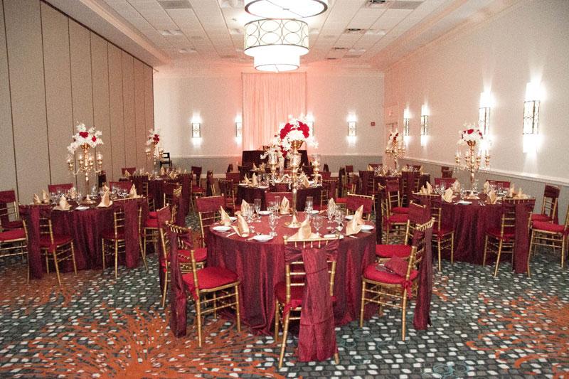 Orlando Wedding Hotel  Orlando Wedding Venue  Crowne Plaza Orlando Downtown Hotel